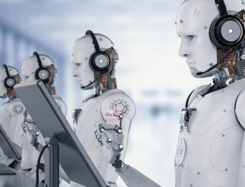 The robots are coming. Quick, everyone get better at your jobs!